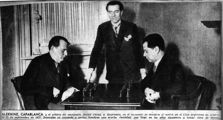 alekhine-capablanca-1927-match