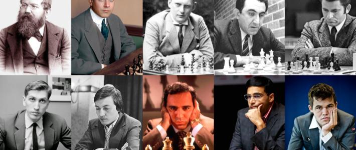 De campeones mundiales, reyes sin corona y príncipes del ajedrez
