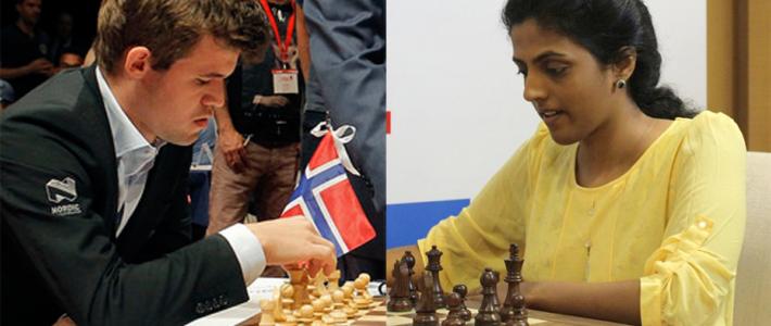 Carlsen se recupera y Harika se consagra en el Grand Prix Femenino