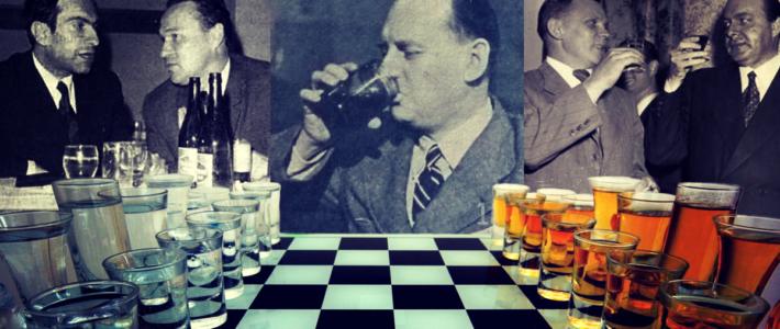Grandes Maestros en clave de alcohol
