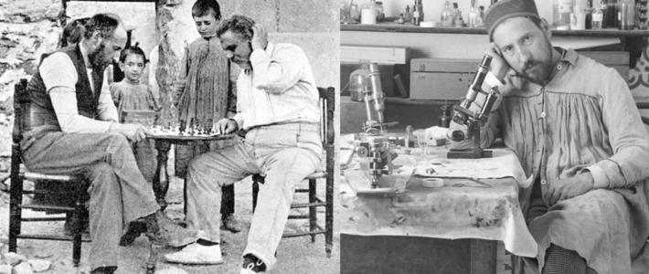 Ramón y Cajal, el Nobel de medicina que enloquecía por el ajedrez