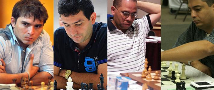 Bruzón, Quesada Pérez, Becerra Rivero y González Zamora lideran en Mexico tras 4 rondas