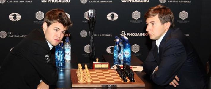 Carlsen renuncia a la lucha y el título mundial se define en partidas rápidas