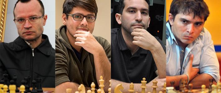 Tiviakov llega líder a la última ronda; Córdova, Quesada y Bruzón lo siguen a medio punto
