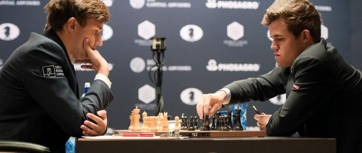 El match sigue igualado tras otra heroica defensa de Karjakin