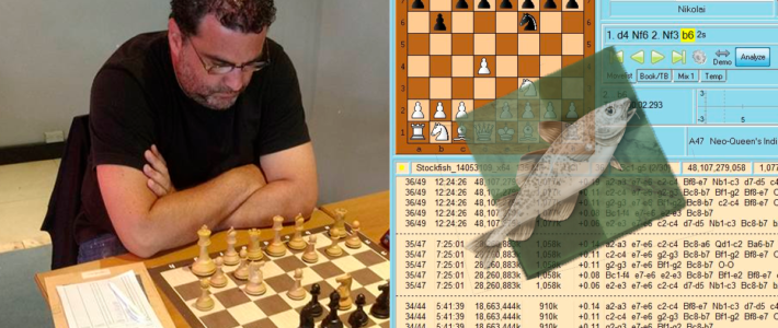 Andrés Rodríguez sigue imbatible en la Patagonia, Stockfish 8 gana el match de módulos
