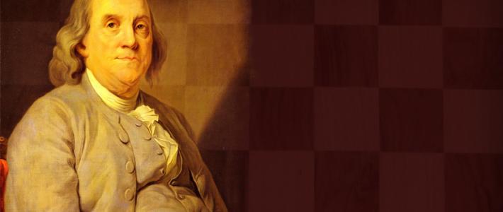 Benjamin Franklin, el ajedrez como recurso diplomático y en su faceta moral