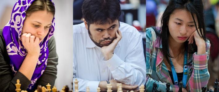 Muzychuk, intratable en el Mundial; Nakamura, único vencedor del Grand Prix; Terao, campeona de Brasil