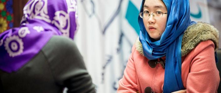 Mundial Femenino: Tan Zhongyi amarga el cumpleaños de Muzychuk