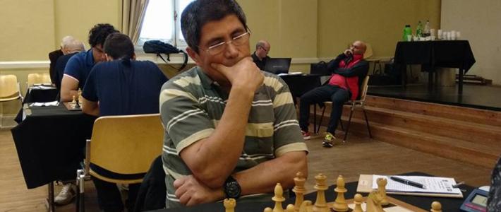 Granda vuelve a ganar y es el único líder en el homenaje a Szmetan
