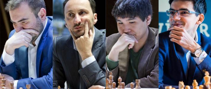 Triunfos del líder Mamedyarov, de So y Topalov en Shamkir; Giri campeón en Reikiavik