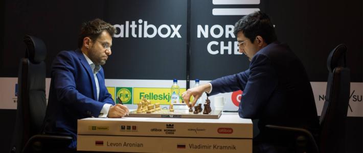 Aronian gana de nuevo y alcanza a Nakamura en la punta. Pocas sorpresas en las primeras rondas del Continental.