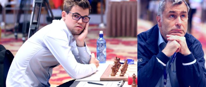 Carlsen eliminado, Ivanchuk iluminado