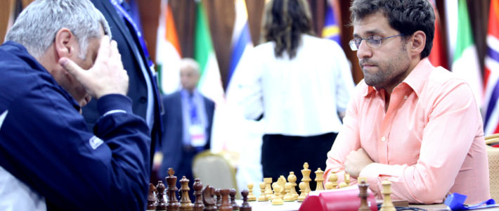 Aronian vence a Ivanchuk en la única partida del día con resultado decisivo