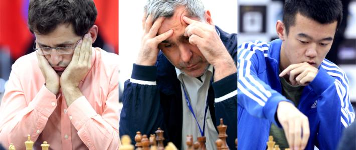 Aronian, Ivanchuk y Ding Liren ya tienen su boleto a cuartos