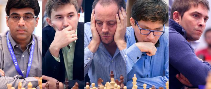 Anand y Karjakin fuera de la Copa del Mundo, Vallejo pasa de ronda; Cori y Bruzón van a desempate