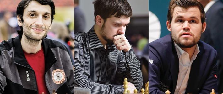 Mundial de rápidas: Jobava y Fedoseev lideran tras la primera jornada; Carlsen a uno de distancia