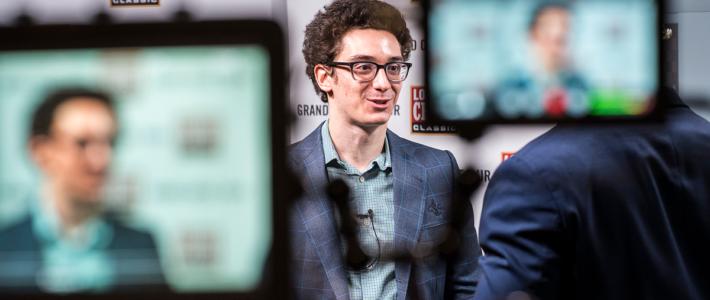 Caruana gana otra vez y es el único líder en Londres