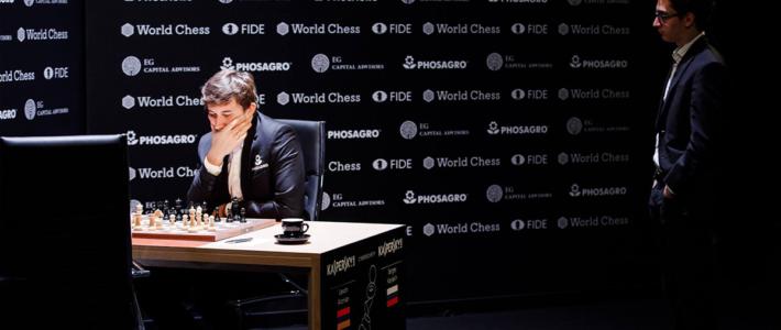 Karjakin se aprovecha de un Aronian abatido y empieza a soñar con una revancha con Carlsen