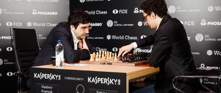 Intenso y cambiante: Caruana vence a Kramnik y es el único líder del Candidatos