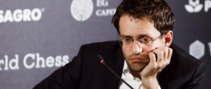 Aronian deja pasar una gran chance de acercarse a la cima en la primera ronda sin resultados decisivos