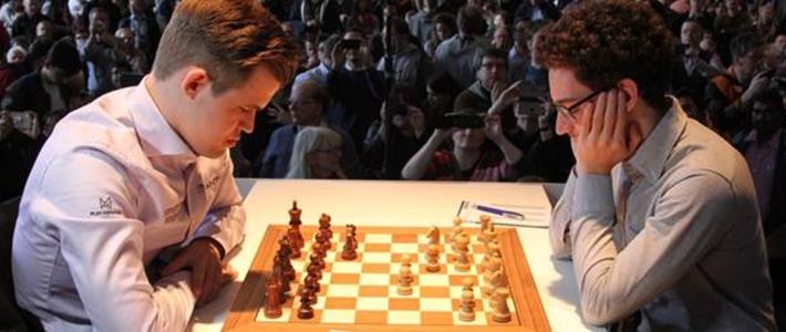 Grenke R1: Caruana sobrevive a los embates de Carlsen en el primer anticipo del match por el campeonato mundial