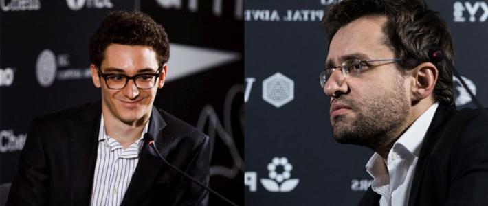 Caruana lidera en solitario tras asestarle otro duro golpe a Aronian