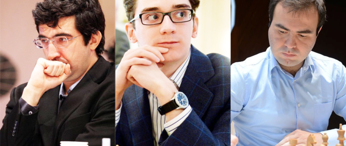 Candidatos: Kramnik, Caruana y Mamedyarov debutan con un triunfo en el torneo que decidirá quién desafía  a Carlsen